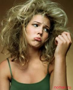 слабые тонкие волосы