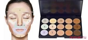 Как скрыть дефекты кожи с помощью корректора