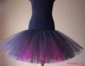 Супер пышная фатиновая юбка