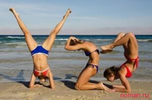 Стройное тело или гимнастика на пляже