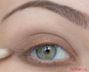 Макияж для глаз с зелеными тенями фото