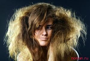 Уход за сухими волосами народными средствами