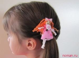 Куколка для волос