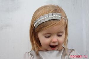Нарядная повязка для вашей малышки готова!