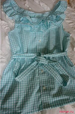 Новая блузка из мужской старой рубашки