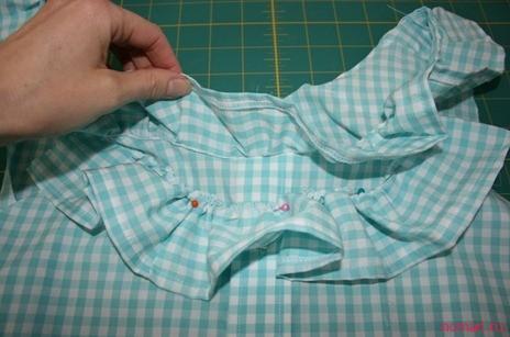 Как из старой рубашки сшить блузку