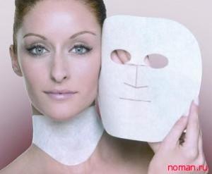 Недорогие маски для лица и шеи