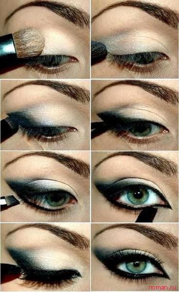 Как правильно красить глаза фото