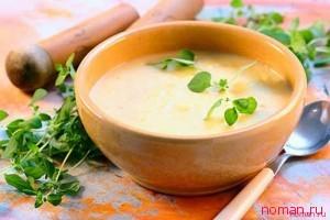 Оригинальный суп без мяса