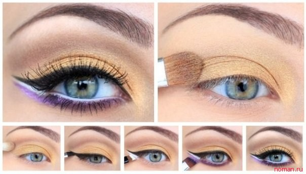Как красиво красить глаза и наносить