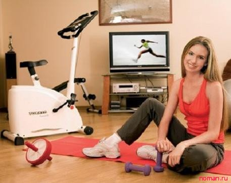 Как заниматься спортом дома - ищем мотивацию!