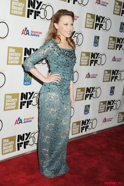 Кайли Миноуг на премьере фильма в Нью-Иорке