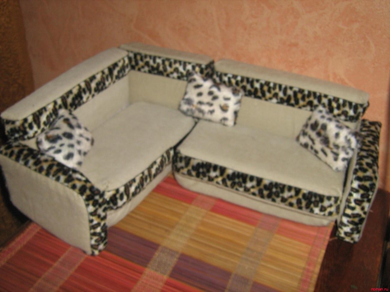 Подушечки диванные своими руками