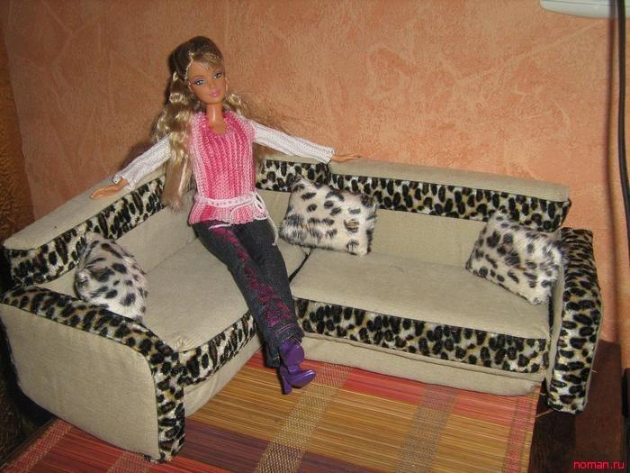 Мебель для Барби своими руками