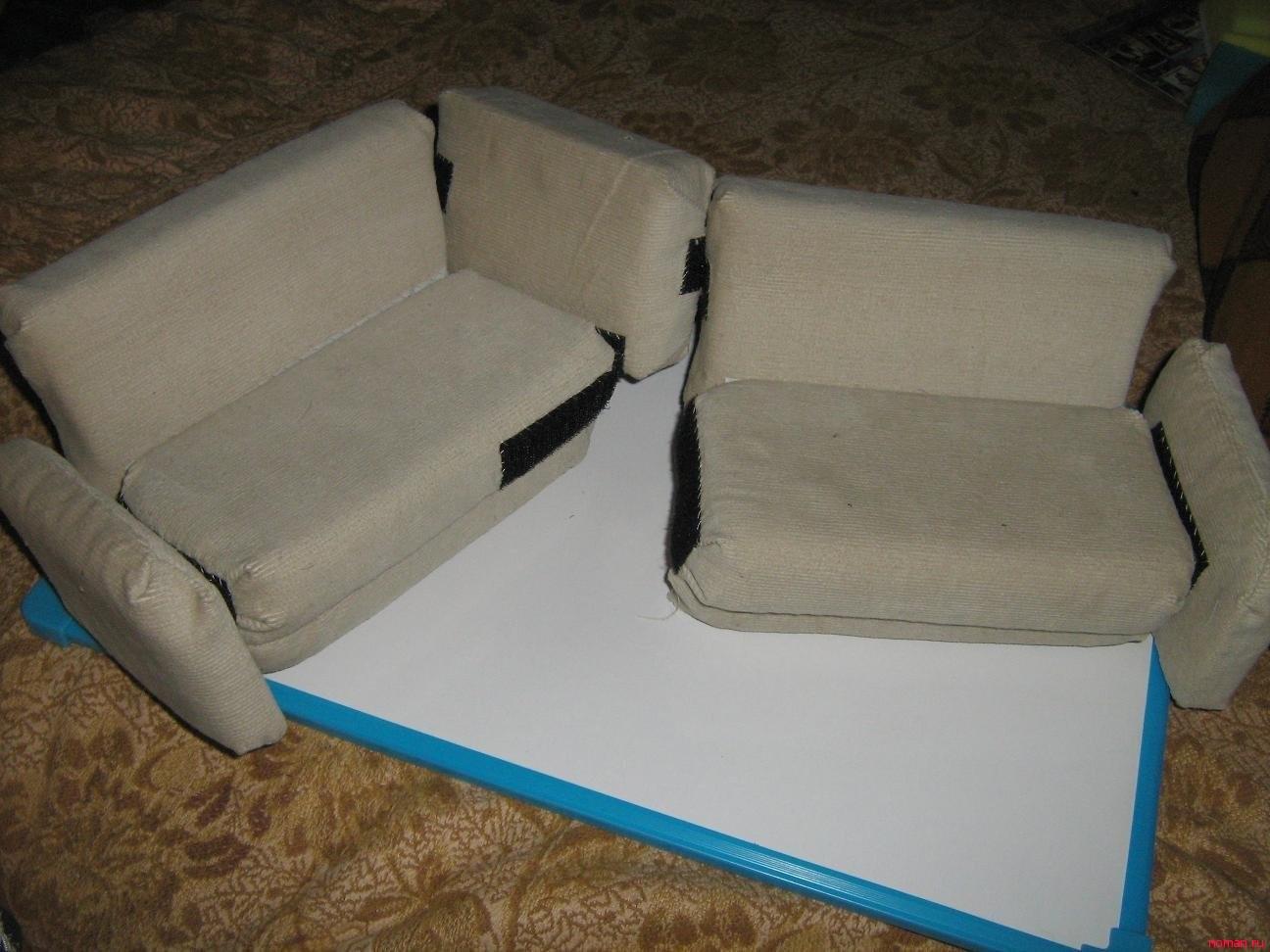 Сделать диван своими руками с фото