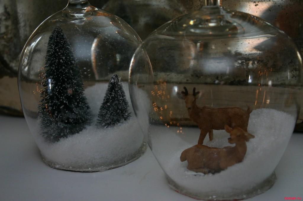 Оригинальные новогодние бокалы