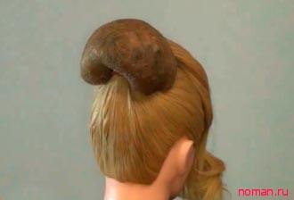 Валик для причёски своими руками фото