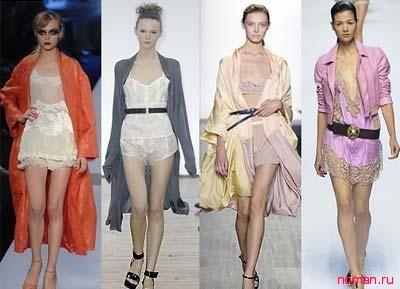 Новые модели нижнего белья