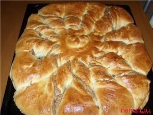 Сладкий болгарский хлеб