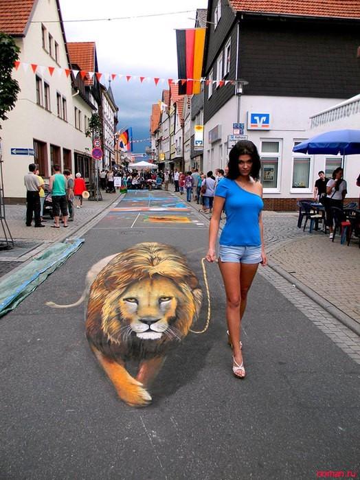 Невероятные 3D рисунки