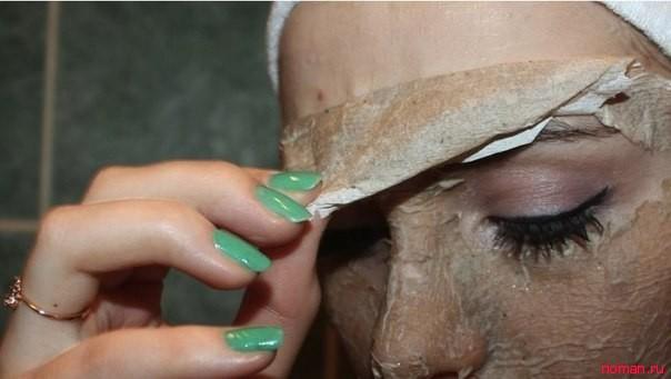 Очищающая маска против черных точек