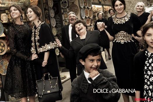 Роскошная Моника Белуччи снялась для Dolce & Gabbana