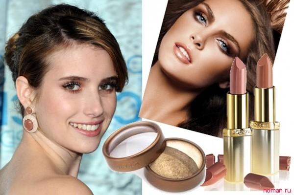 Новогодний макияж для цветотипа Лето