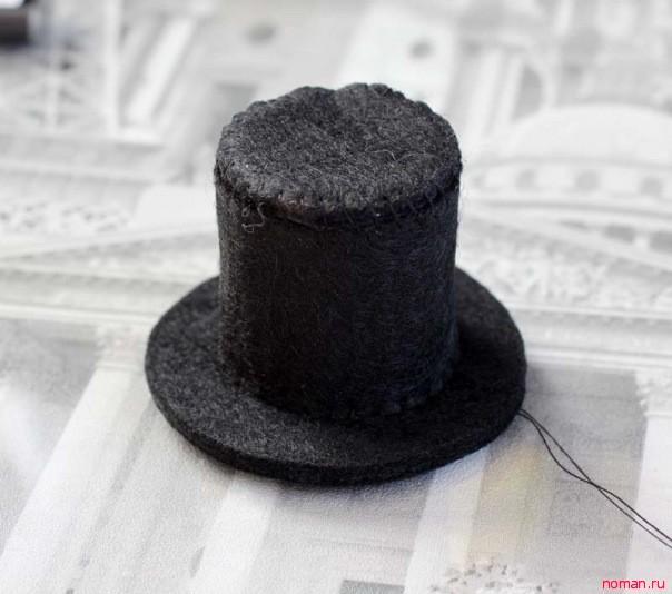 Декоративная  шляпка-ободок