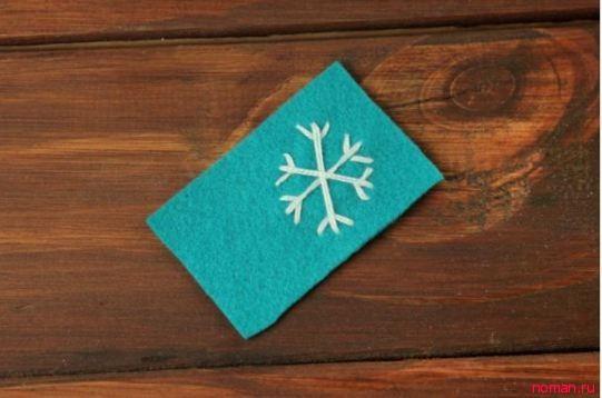 Упаковка подарка на Новый год!