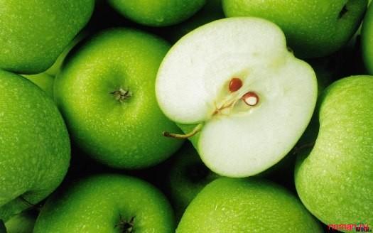 Делаем массаж яблоками