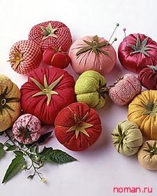 Овощная игольница