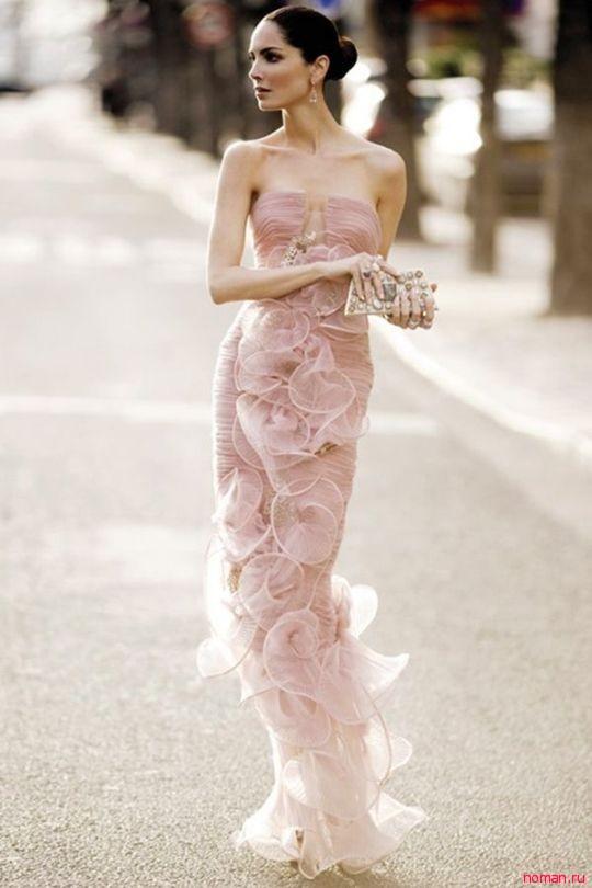 Вечерние платья от Армани