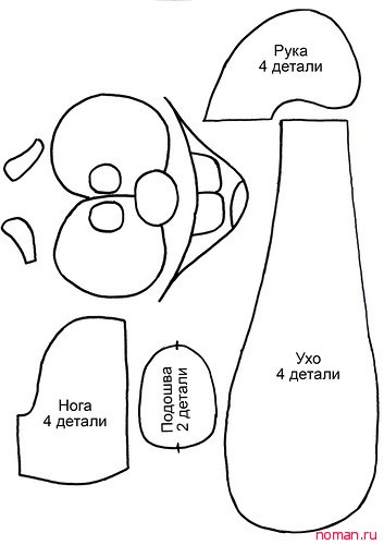 Рюкзак Крош Мастер-класс
