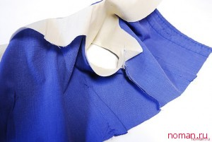 Платье для девочки из мужской рубашки