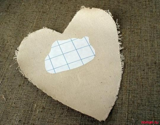 Винтажное сердечко-валентинка
