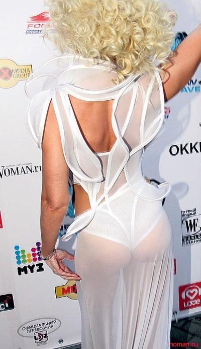 Самые нелепые наряды отечественных звёзд в 2012 году