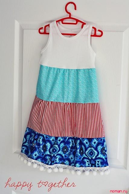Красивое платье за полчаса