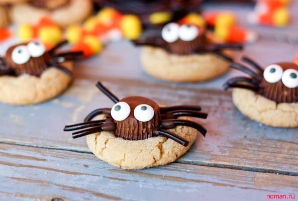Печенье-паучки
