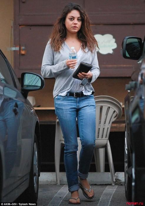 Мила Кунис - самая неряшливая звезда Голливуда