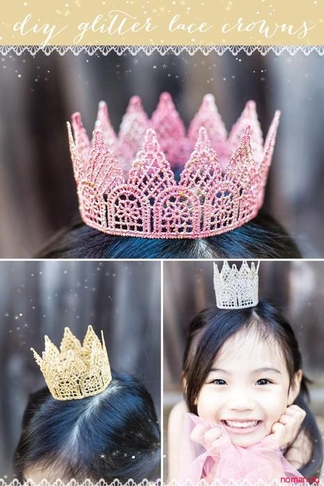 Как сделать корону для принцессы своими руками 366