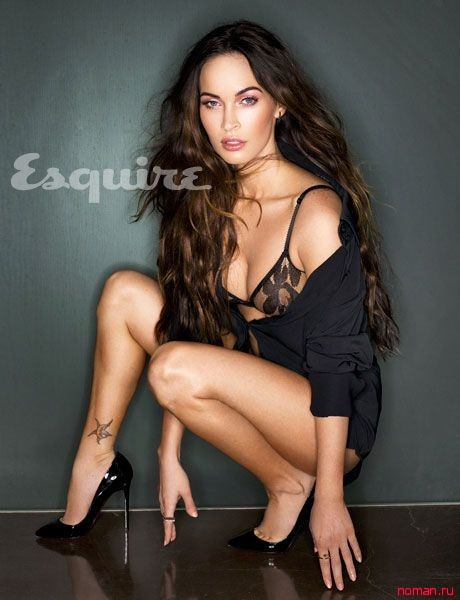 Меган Фокс в фотосессии для журнала Esquire