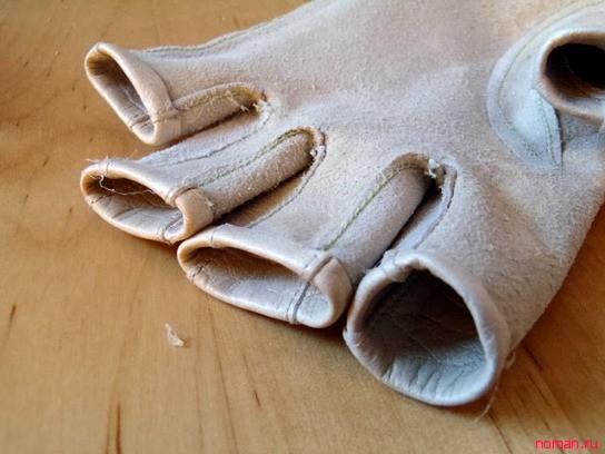 Стильные перчатки своими руками