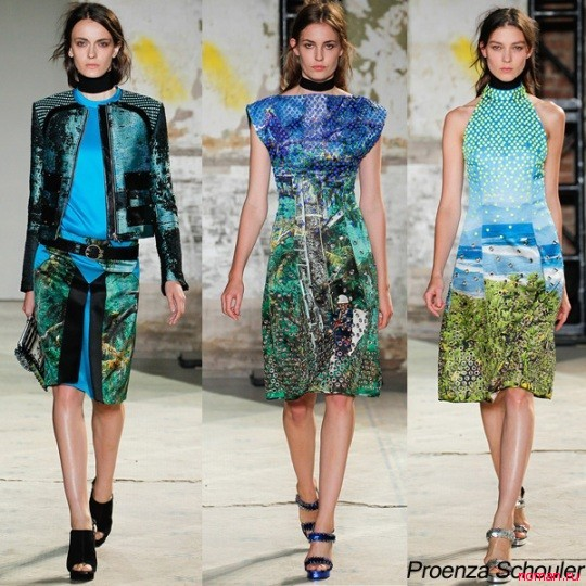Новаторская коллекция Proenza Schouler весна-лето 2013