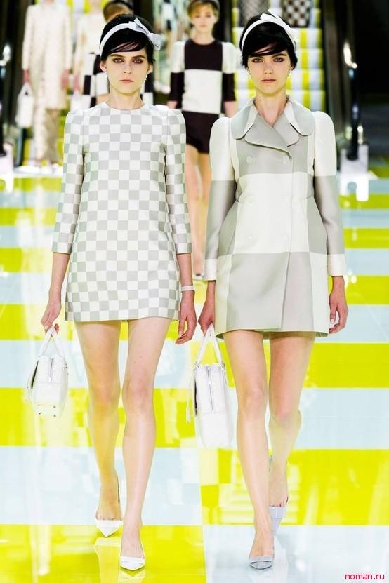 Шахматная весна-лето 2013 от Louis Vuitton