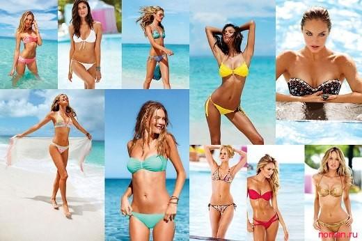 Victoria's Secret – коллекция купальников для жаркого лета 2013