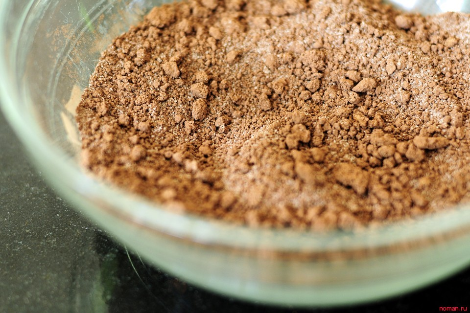 Шоколадный коблер