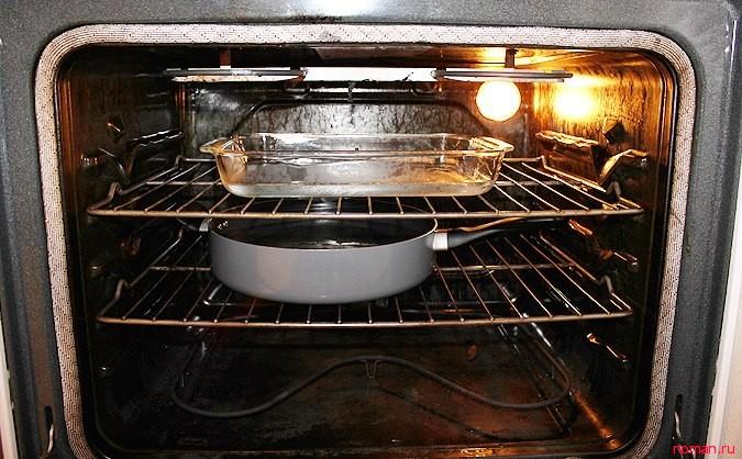 Как быстро отмыть духовку