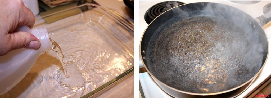 Как почистить духовку от жира и нагара в домашних условиях