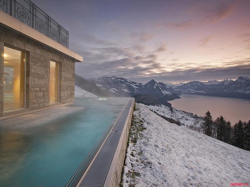 Самые уютные зимние бассейны