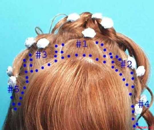 Прическа для девочки на короткие жидкие волосы картинки - 22d29